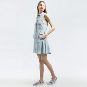 NWT Shopbop Cheap Monday Chambray Sleeveless Dress